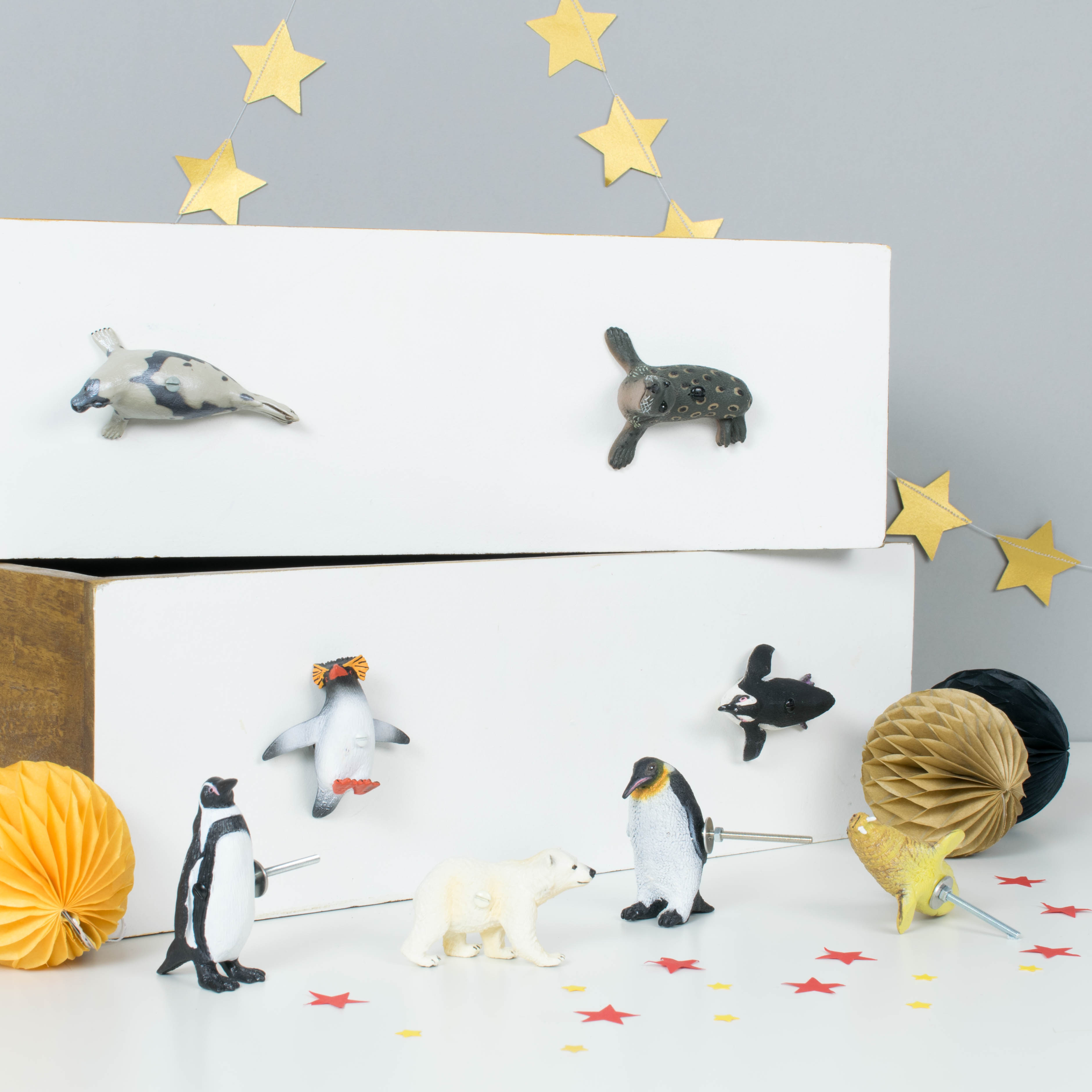 cupboard listing of set il forest woodland fullxfull animal knobs lindoskate painted drawer hand