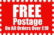 FREE Postage On All Orders Over �35