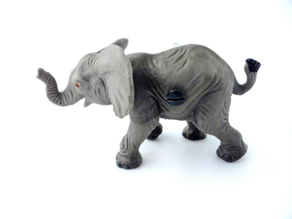 Safari Animal Elephant Bedroom Cupboard Or Wardrobe Knob
