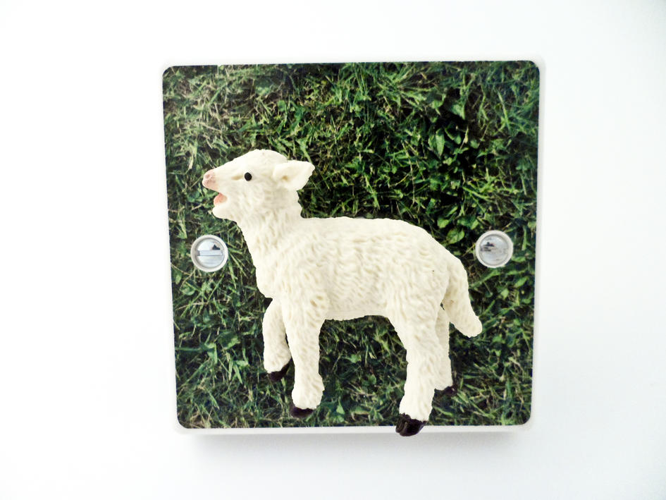 *SALE* - Cute Baby Lamb Farm Animal Light Switch or Dimmer Switch For kids Bedrooms
