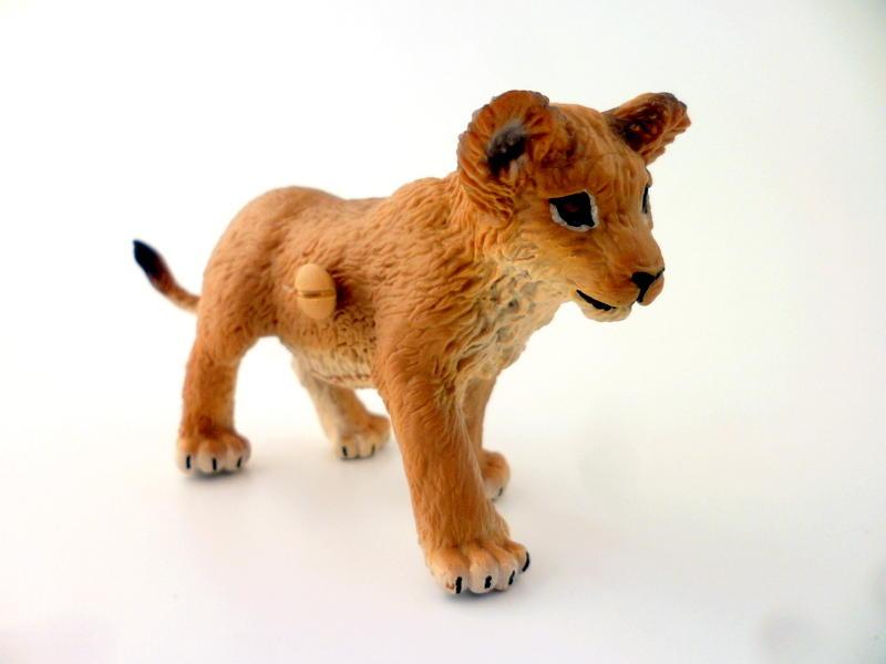 Angolan Lion Cub Safari Jungle Childrens Bedroom Drawer Knob