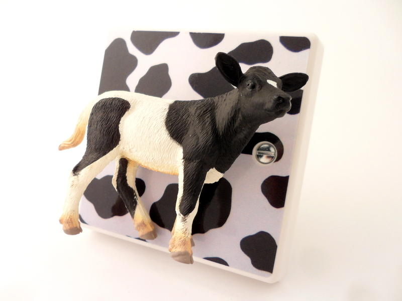 Decorative Novelty Cow Light Switch Turn The Cow To Turn
