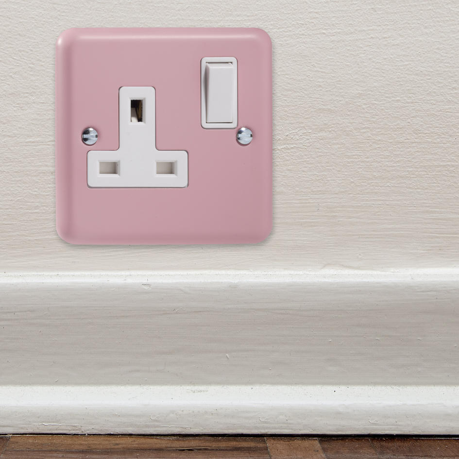 Sale 3 Only Lily Range Rose Pink Switched Plug