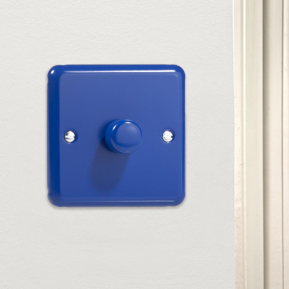 royal reflex blue designer dimmer switch made in the uk hy3 rb varilight v di. Black Bedroom Furniture Sets. Home Design Ideas