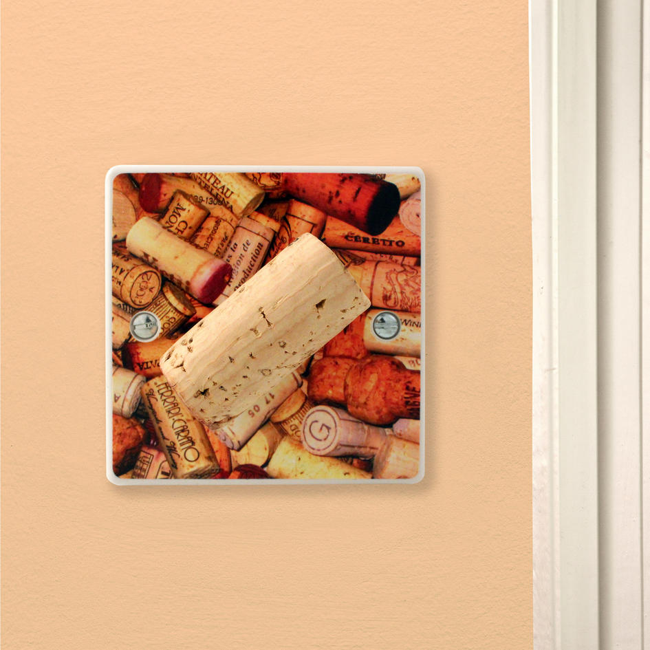 Wine lover cool corks gift kitchen light switch or dimmer Gifts for kitchen lovers