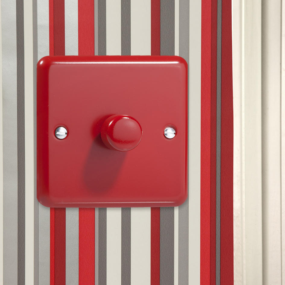 Sale 2 Only Pillar Box Red Dimmer Switch Hy3 Pr
