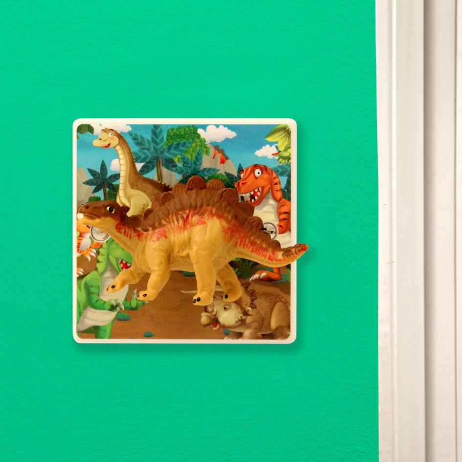 Dinosaur themed bedroom light switch for children or all for Dinosaur themed bedroom ideas