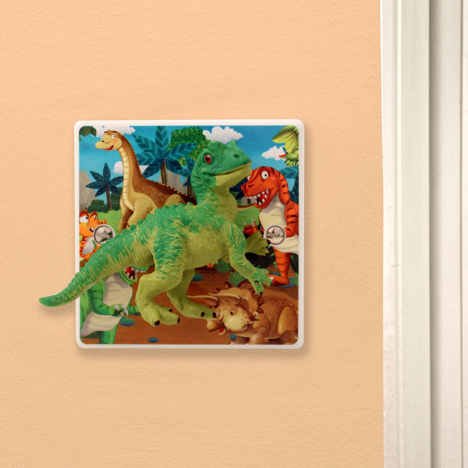 Dinosaur bedroom light switch for children s bedrooms for Dinosaur pictures for kids room