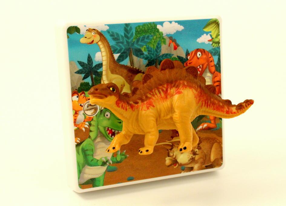 dinosaur themed bedroom light switch for children or all the family