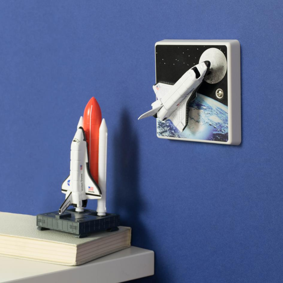 Space Shuttle Light Switch Or Dimmer Switch Perfect For A
