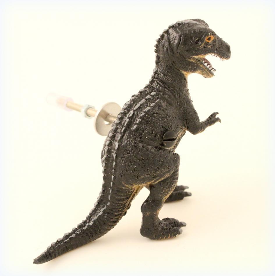 Door Knob Cupboard Knob - T Rex Dinosaur
