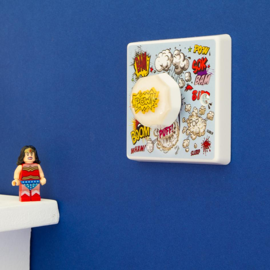 Superhero Light Switch