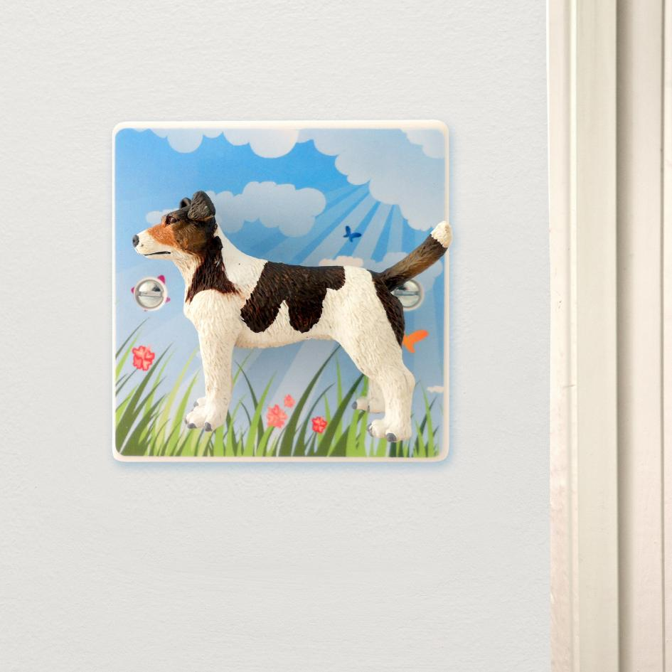 Summertime Jack Russell Dog Light Switch Unique Dog Lovers Gift
