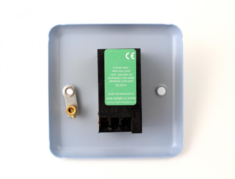 Varilight Pastel Duck Egg Blue Retro Dimmer Light Switch