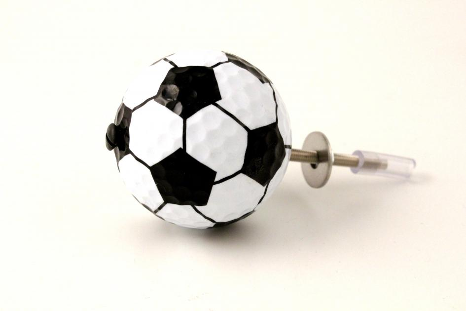 Cupboard Knobs ~ Set of Four Football Cupboard Door Knobs