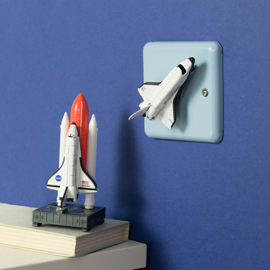 Outer Space Light Switch Space Rocket Light Switch For