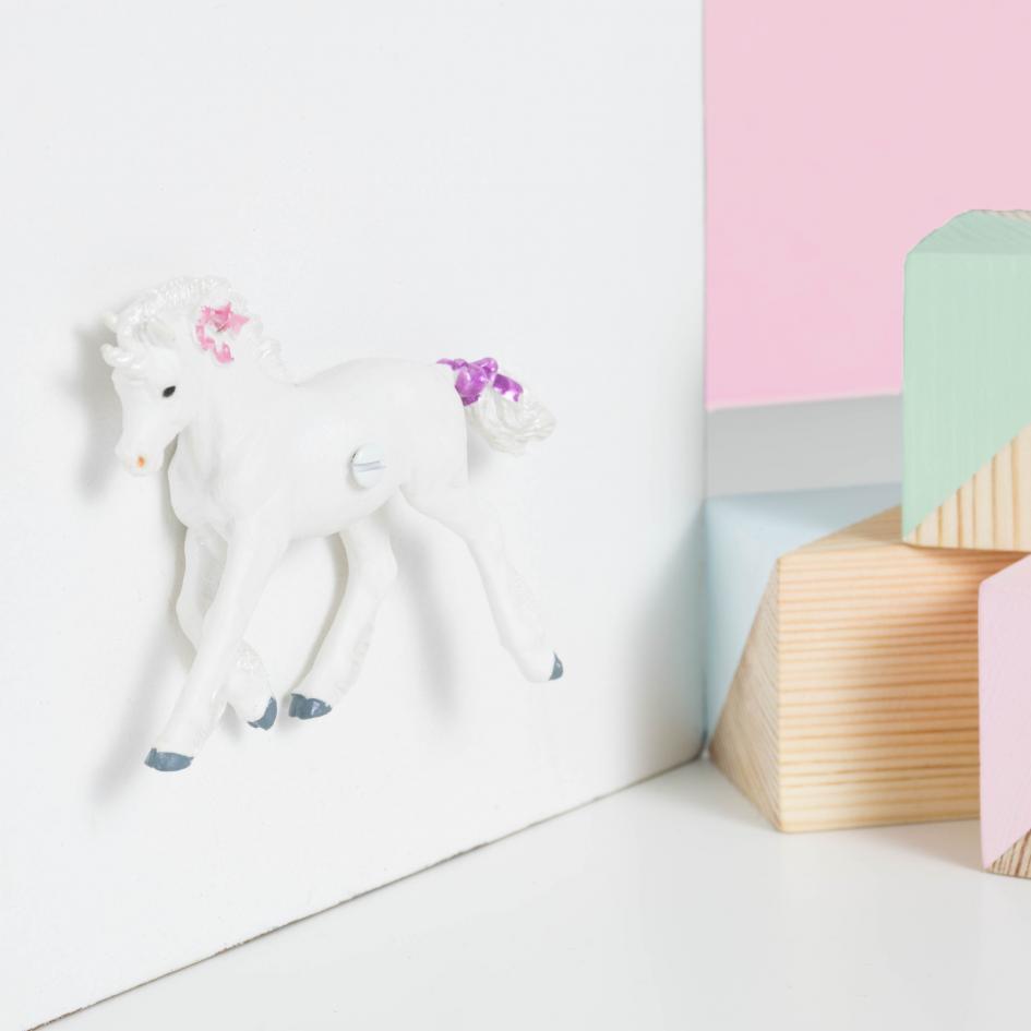 Unicorn bedroom decor cupboard or drawer knob for unicorn for Unicorn bedroom decor