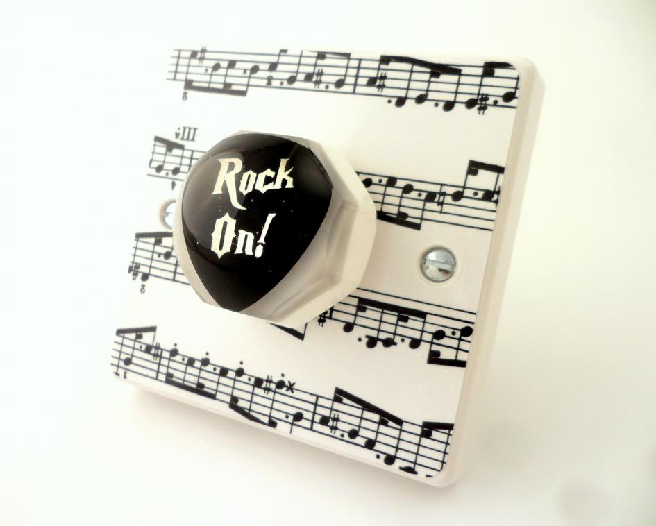 Music Room Light Switches