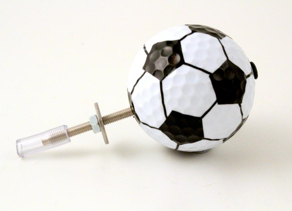 Ball Drawer Pulls ~ Set of Six Sports Ball Decorative Door Knobs