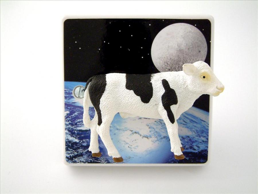 cow jumped over the moon nursery dimmer light switch. Black Bedroom Furniture Sets. Home Design Ideas