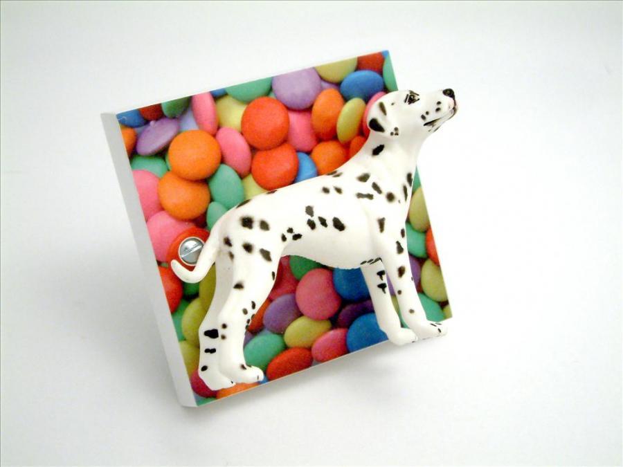 Dalmation Dog Decorative Light Switch