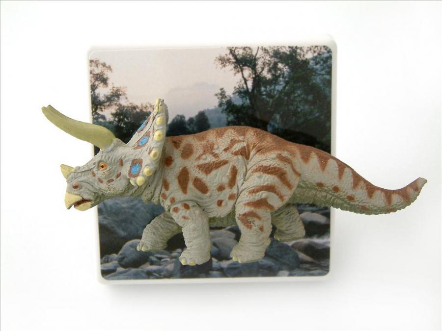 kids triceratops dinosaur themed bedroom decorative dimmer light
