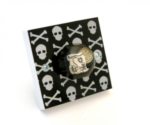 Pirate Bedroom Decor - Decorative Light Switch for Pirate Themed Bedroom