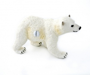 Beautiful Polar Bear Cub Cupboard or Drawer Knob
