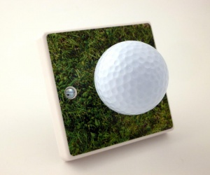 Hole In One! Decorative Golf Ball Gift Light Switch
