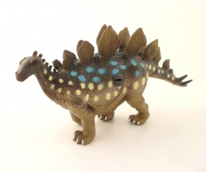 Dinosaur Drawer Knob or Cupboard Knob for Children´s Bedrooms - Stegosaurus