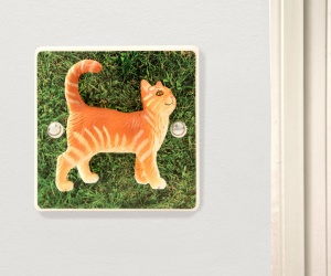 Decorative Friendly Cat Light Switch a Unique Novelty Gift for Cat Lovers