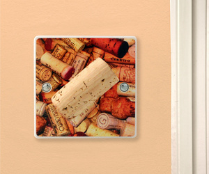 Wine Lover - Cool Corks Gift Kitchen Light Switch or Dimmer
