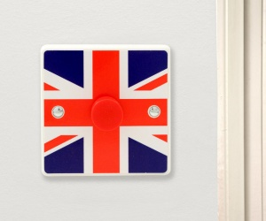 GB Flag Light Switch - Made in the UK