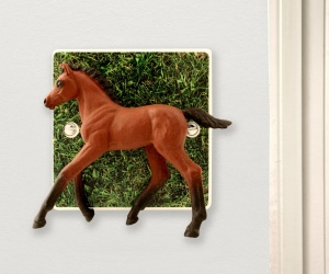 Decorative Horse Light Switch for Children´s Themed Bedrooms