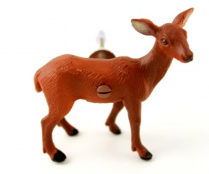 Woodland Animal Cupboard Knob, a cute Deer perfect for a Woodland Themed Kitchen or Nursery