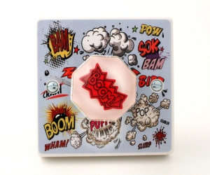 Superheroes Bedroom Light Switch or Dimmer Switch Ltd Edition Designer Light Switch