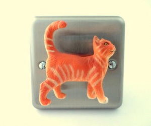 Cat Gift Ideas Cheeky Cat Light Switch