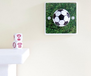 Football Light Switch for Boys or Girls Football Themed Bedrooms