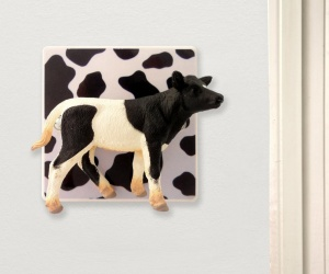 Decorative Novelty Cow Light Switch, Turn the Cow to Turn on the Lights!