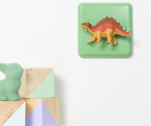 Dinosaur Dimmer Switch with Stegosaurus