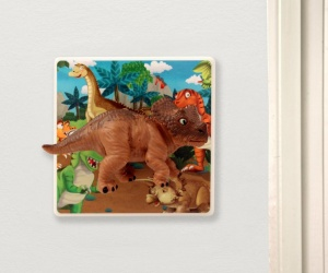 Decorative Light Switch for Kids Dinosaur Bedroom