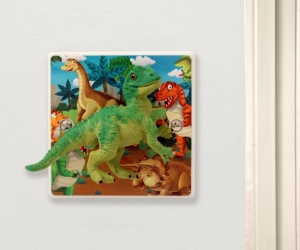 Dinosaur Bedroom Light Switch for Children�s Bedrooms