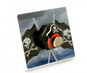Pirate Bedroom Light Switch - Decorative Light Switch British Made & Handmade