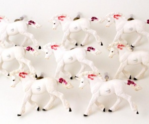 Unicorn Bedroom Cupboard Drawer Door Handles - Set of Eight Unicorn Knobs