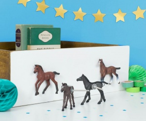 Horse Cupboard Knobs Set Of Four Horse Drawer Knobs | Horse Gift