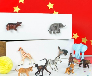 Circus Animal Cupboard And Drawer Knobs