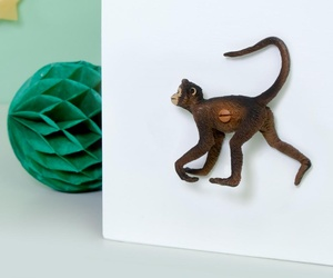 Childrens Safari Bedroom Animal Cupboard or Drawer Knob Morris the Spider Monkey
