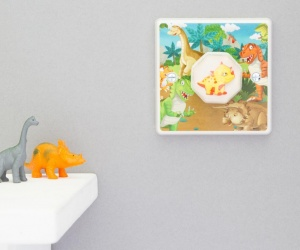 Children's Dinosaur Bedroom Light Switch