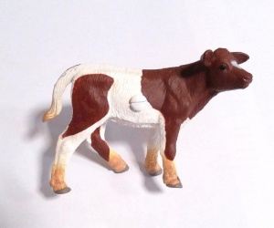 Cow Drawer or Cupboard Knob For Farm Themed Nursery or Bedroom