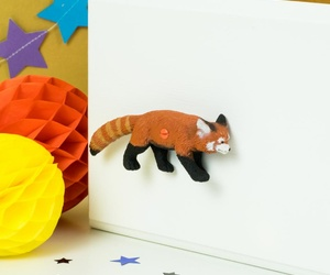 Red Panda Animal Door Knobs for Cupboards, Drawers & Wardrobes